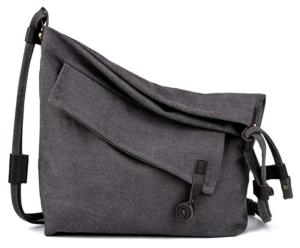 COOFIT Canvas Bag for Women Crossbody Bag Messenger Bag Shoulder Bag Hobo  Bag Unisex cb0621d8f80a3